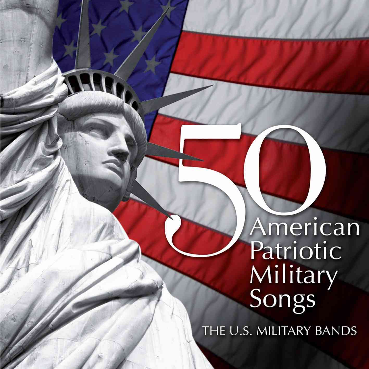 50 AMERICAN PATRIOTIC MILITARY SONGS BY UNITED STATES COAST (CD)